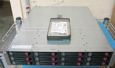 "HP MSA20 Modular Smart Array 12 bay 12 x 500GB 3.5"" Storage Enclosure 6TB"