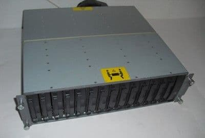 HP MSA30 4454R U320 ARRAY 302969-B21 with 2 x Power Supplies, U320 SCSI, FB+rail