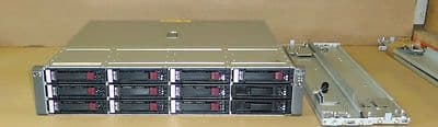 HP MSA60 Modular Smart Array 12 bay with 12 x HP 300GB SAS 15K drives and rails