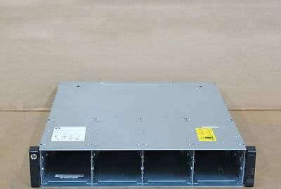 HP P2000 G3 AW593A 12-Bay Storage Array With 2 x Quad SAS Controllers, 2x PSU