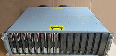 HP StorageWorks 14 Bay Hard Drive Storage Array W/ 8x 72.8GB SCSI HDD 302969-B21
