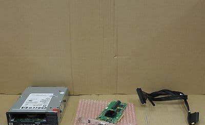 HP Ultrium 920 LTO3 SAS Internal Tape Drive EH847A With LSI SAS Card And Cable