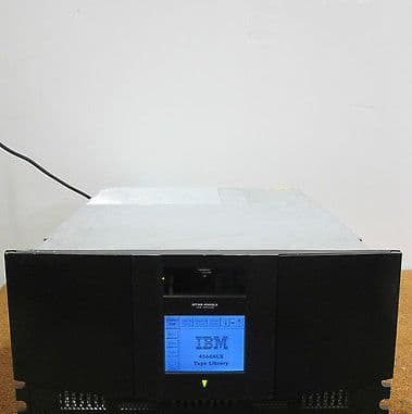IBM 4560-SLX Backup Tape Library Enclosure With AD605A LTO2 Tape Drive 59P6689