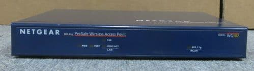 NetGear Pro Safe Wireless Access Point Model WG302 802.11G Networking Equipment