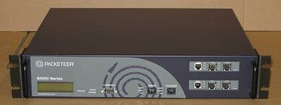 Packeteer PacketShaper 6500 PS6500 With 2 x 1000Base X LAN Cards - Network