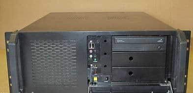 Rack Mount Console PC Pentium Dual Core 2.93GHz, 4Gb RAM, 500Gb HDD, DVD-RW