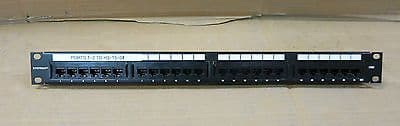 SYSTIMAX GigaSPEED  XL 1100GS3 Patch Panel CAT5e, 24-port RJ45