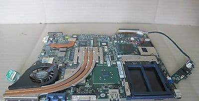 Samsung X10 Laptop Motherboard With Processor And Heatsink- BA41-00316A