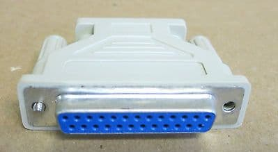 Serial Computer Adapter 25-Pin Female To 9-Pin male