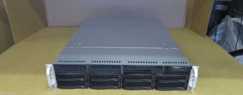 Supermicro X8DTN+ 2U Rack server 2 x SIX-CORE X5650 288GB RAM 8 x 2TB RAID ++