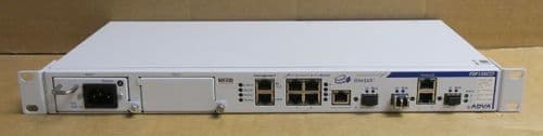ADVA FSP150CCF-825 EtherJack Optical Networking Carrier Ethernet Switch + 1x PSU
