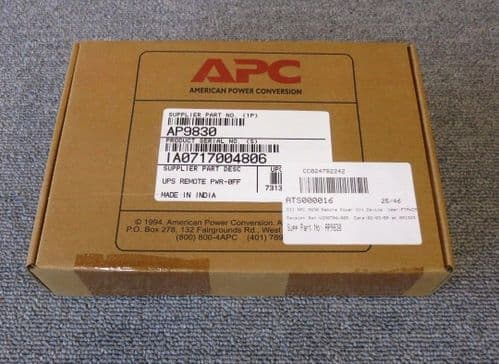 APC AP9830 New Sealed Remote Power-Off Remote management adapter