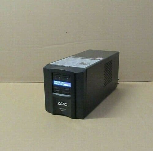 APC SMT750I VA UPS Uninterruptible Power Supply Tower LCD + Network Card AP9631