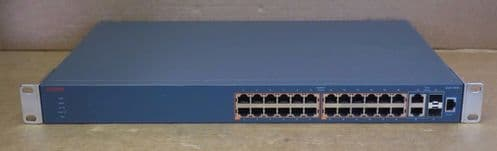 Avaya 3526T-PWR+ 24x 10/100 PoE + 2x Combo 1Gb SFP Ports Ethernet Routing Switch
