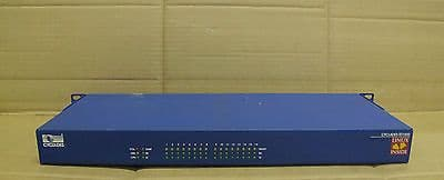 Avocent Cyclades TS1000 - 16 Port Console Serial Server With Rack Mount Ears