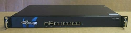 Barracuda Networks X300 VPN Firewall Network Security 6x 1GbE Port NSA1120A-X300