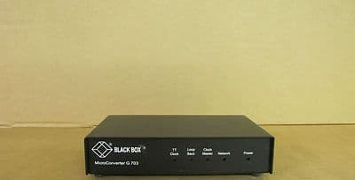 BLACK BOX MicroConverter G.703 P/N MTV9000