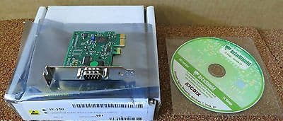 Brainboxes IX-150 Intashield Low Profile PCIe 1 x RS232 Serial Card Adapter