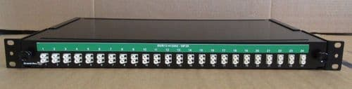 "Brand-Rex 19"" 24 Port LC Rack Mount Fibre Patch Panel 1U"