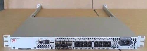 Brocade 300 310 SM-310-0000 24-Port (8 Port Active) 8Gb Fibre Channel SAN Switch