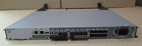 Brocade 320 DL-320-0003 300 24-Port 8GB Fibre Channel Switch 16 Port Active
