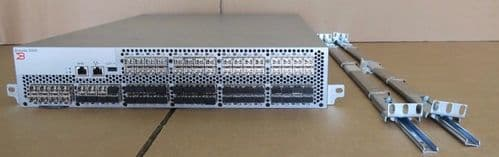 Brocade 5300 5320 80 Ports Active 8Gb FC Switch SM-5320 + Licenses, SFPs, & Rail