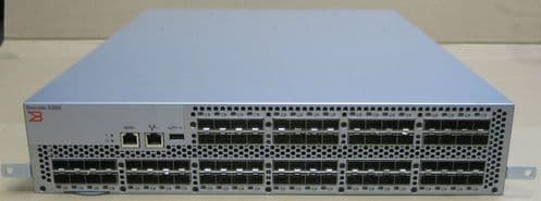 Brocade 5300 80 Port (48 Port Active) 8Gbps FC Fibre Channel Switch NA-5320-0008