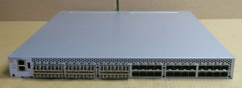 Brocade 6510 48-Port 16Gb/s Fibre Channel Switch 24-Port Act BR-6510-24-16G-F ++