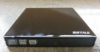 Buffalo DVSM-PN58U2VB Black External DVD+RW Portable MultiDrive USB Drive