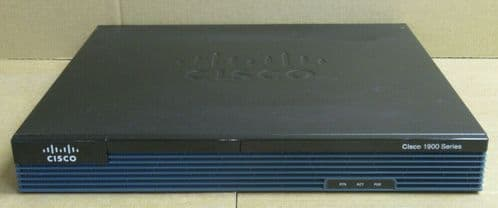 Cisco 1900 1921/K9 Integrated Services Router + ISDN BRI S/T WAN Interface Card