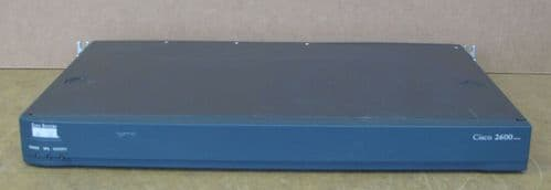 Cisco 2621XM Ethernet Router 10/100MB 2600 Series 1U Wired 240V  NM-2CE1T1-PRI