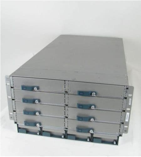 Cisco N20-C6508 UCS 5108 Blade Server Chassis w/0xPSU/8xFAN/2xFabric Extender