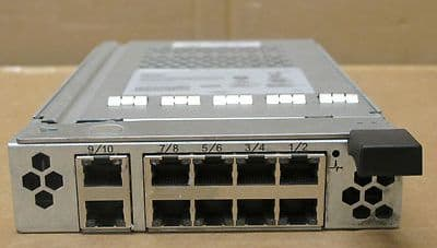 Dell BMX-PHY 10 Port HJ574 Gigabit Ethernet Module 1855 1955