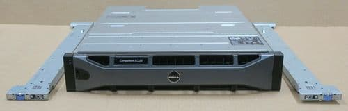Dell Compellent SC220 Expansion Enclosure 24x 400GB SSD 2x SC2 Controller 2x PSU