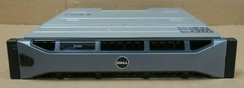 Dell Compellent SC420 Expansion Enclosure 24 x 1.8TB 10K 12G SAS HDD 2x EMM 2xPS