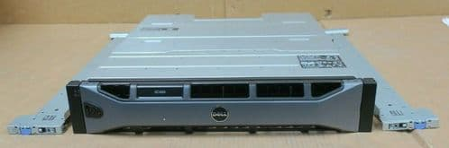 Dell Compellent SC420 Expansion Enclosure 24x 400GB SSD 2x 12G-SAS-4 EMM 2x PSU