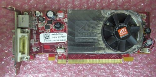 Dell CP309 ATI Radeon HD2400XT 256MB PCI-E X16 Low Profile Graphics Card