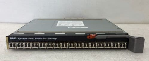 Dell FC8PT 16 Port 8/4Gbps Fibre Channel Pass Through for M1000E YHTDH Switch