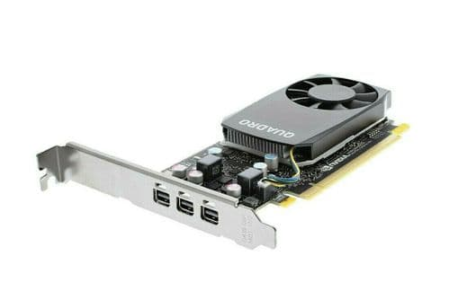 Dell Nvidia Quadro P400 PCI-E 3.0 x16 2GB GDDR5 Graphic Card Low Profile F2NVH