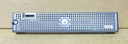 Dell Poweredge 2950 Server Front Bezel Faceplate With 2 Keys FD250