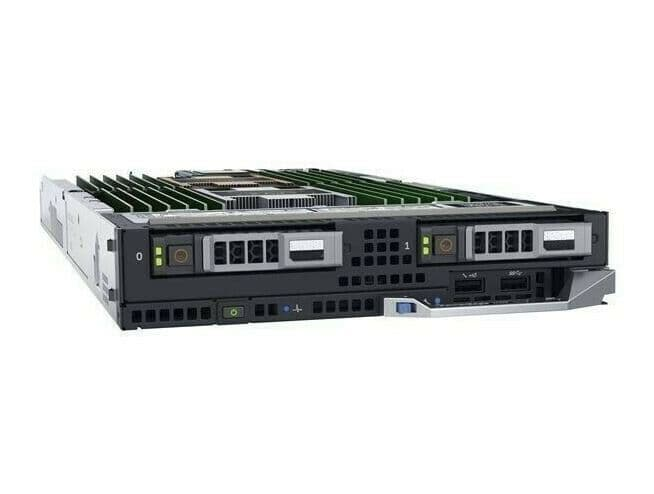 Dell PowerEdge FC640 Configure-To-Order CTO Blade Server Node No CPU/MEMORY/HDD