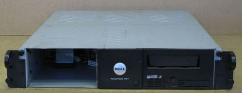 Dell PowerVault 114T Tape Drive Enclosure - 1x Ultrium LTO3 Tape Drive TG158
