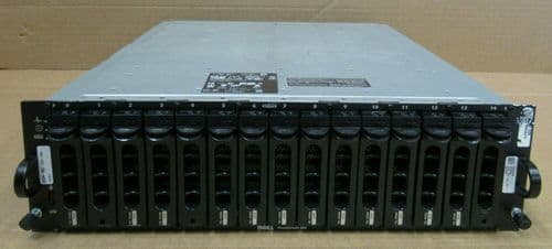 Dell PowerVault MD1000 12x 450GB SAS 5.4TB 2x SAS Control Modules Storage Array