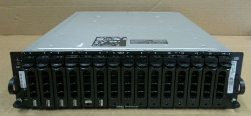 Dell PowerVault MD1000 6x 450GB SAS 2.7TB 1x SAS Control Modules Storage Array