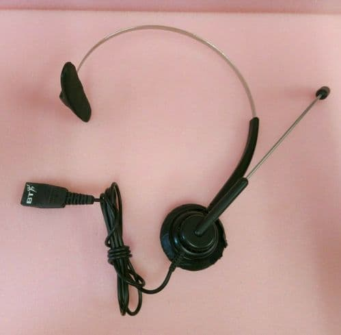 Eartec EAR-308  Monaural Easyflex Headset For BT home or office Phone