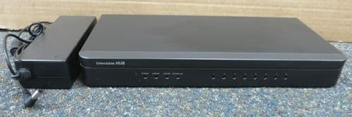 Extendable Hub NVR Network Video Recorder VHDIP-16 8-Port With Power Supply