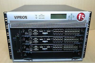 F5 Viprion-4 400-0001-10 Port Application/Load Balancing Switch 3x PB100 Modules