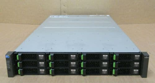 Fujitsu ETERNUS CS800 S4 Base Shelf 2x Controller 36TB HDD CA07339-E013 2x PSU