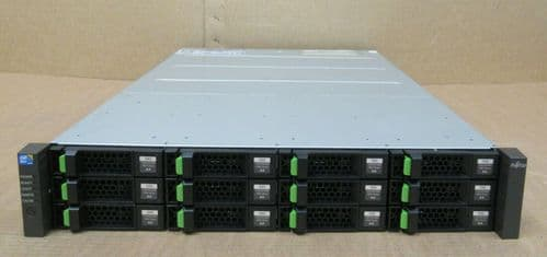 Fujitsu ETERNUS CS800 S5 Base Shelf 2x Controller 48TB HDD CA07339-E064 2x PSU