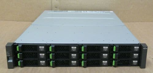 Fujitsu ETERNUS CS800 S5 Extention 2x IOM6 Control 48TB HDD CA07339-E064 2x PSU